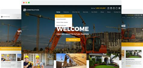 10+ Best Construction Company Wordpress Themes 2018 Best