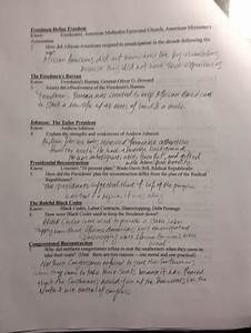 Ch 20-22 Studyguide
