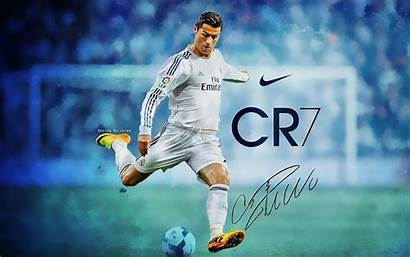 Ronaldo Soccer Cristiano Wallpapers Football Cr7 Awesome