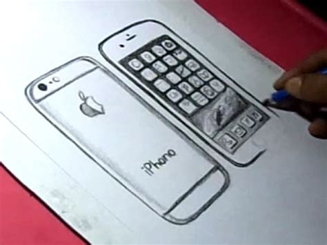 draw apple iphone  drawing youtube