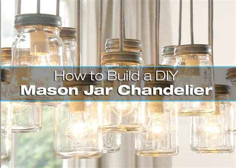 how to build a diy jar chandelier diy for