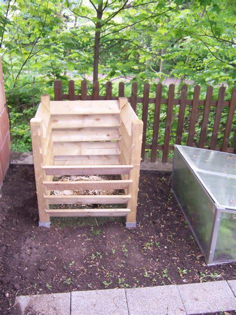 kompost bauen garten balkon selbstde