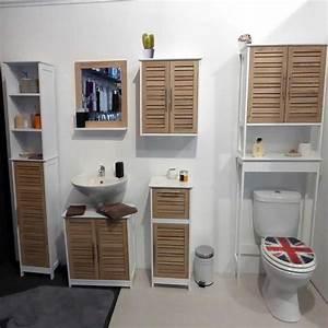 meuble dessus de toilettes et table dya shoppingfr With dessus de meuble de salle de bain