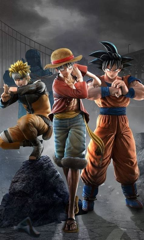anime jump force naruto dragon ball  piece video