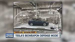 Tesla tests out HEPA filtration system and Bioweapon