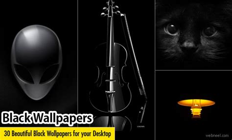30 Beautiful Black Wallpapers For Your Desktop Mobile And Tablet