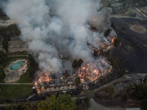 california fires  updates worst wildfires  history