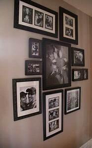 Cadre Pour Plusieurs Photos : les 25 meilleures id es concernant murs de cadre sur pinterest dispositions de cadres photos ~ Teatrodelosmanantiales.com Idées de Décoration