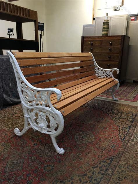antiques atlas cast iron garden bench