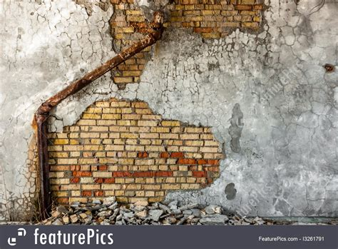 industrial wall background  sewer pipe