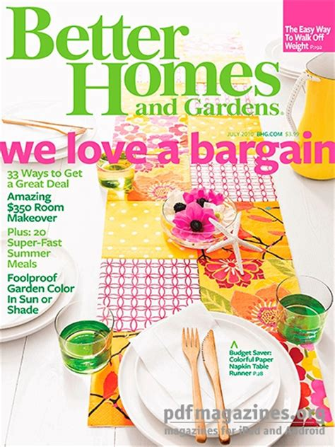 better homes gardens july 2010 187 pdf magazines archive