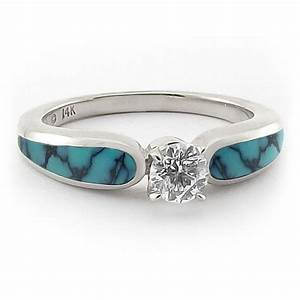 966 best jewelzzz v southwestern style jewelry images on With turquoise and diamond wedding ring