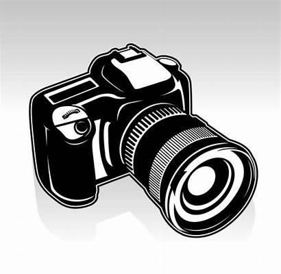 Camera Vector Slr Illustrations Clip Digital Dslr