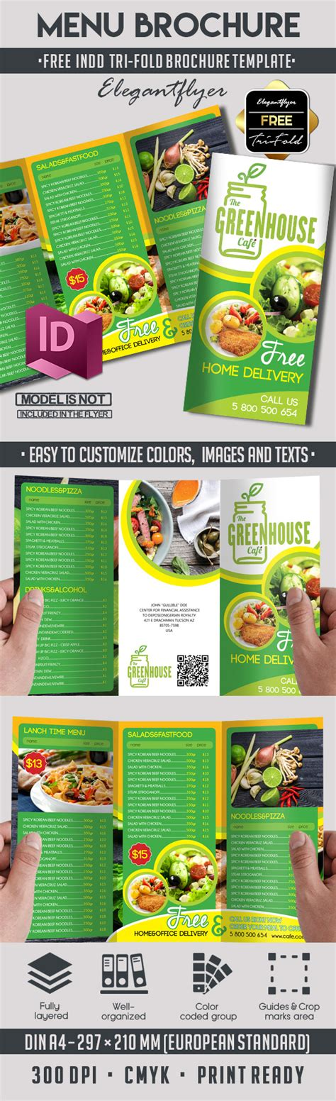 Free Adobe Indesign Brochure Templates by 5 Powerful Free Adobe Indesign Brochures Templates By