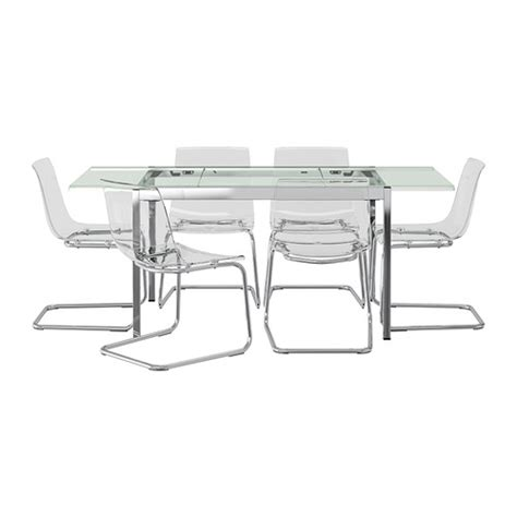 Chaise Plexi Transparente Ikea by Glivarp Tobias Table And 6 Chairs Ikea