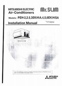 Mitsubishi Mr Slim Peh 2 2 5 3 4 5 6 Sa Ducted Air