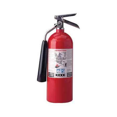 Boat Safety Fire Extinguishers by Kidde Proline Fire Extinguishers Carbon Dioxide Boater
