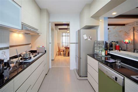 Industrial Kitchen Design Ideas - home interior designers in singapore condo and hdb interior designs