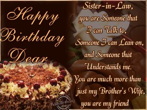 happy birthday  sister  law wishbirthdaycom
