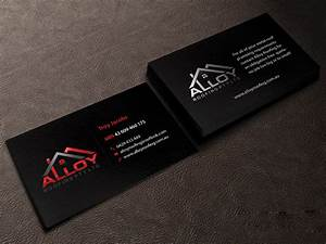 Modern professional business business card design for for Business cards roofing design