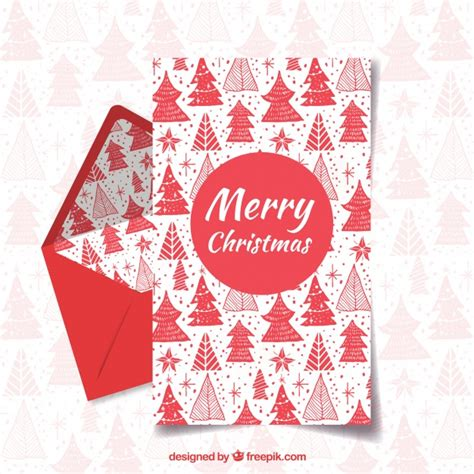 merry christmas letter template merry christmas and happy holiday red letter template vector free download