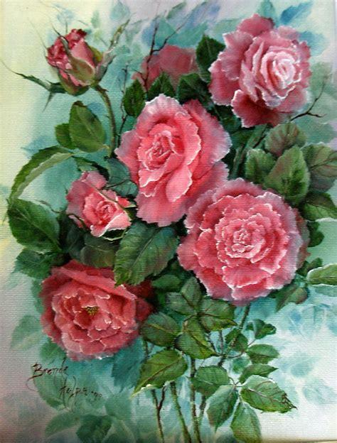 rosesflowers   life paintingswatercolor  oil