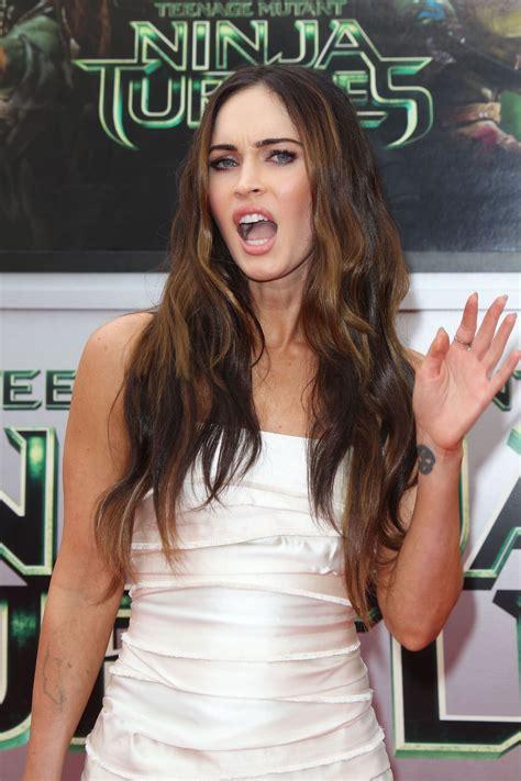 Megan Fox Teenage Mutant Ninja Turtles Premiere