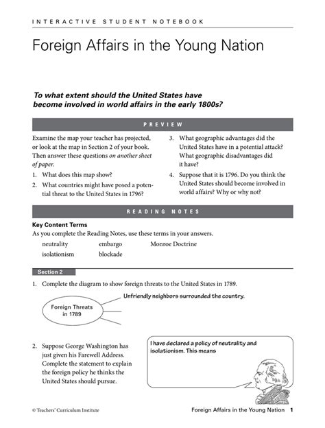 Teachers Curriculum Institute Worksheets Worksheets