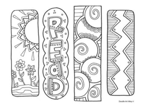 Kleurplaat Bladwijzer Printen by Onderwijs En Zo Voort 3433 Boekenleggers 16