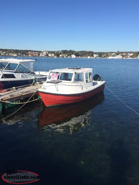Speed Boats For Sale Nl by 18 Foot Boat Motor And Trailer For Sale Coleys Point