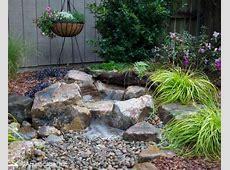 Backyard Waterfall Build a Small Waterfall in your Backyard