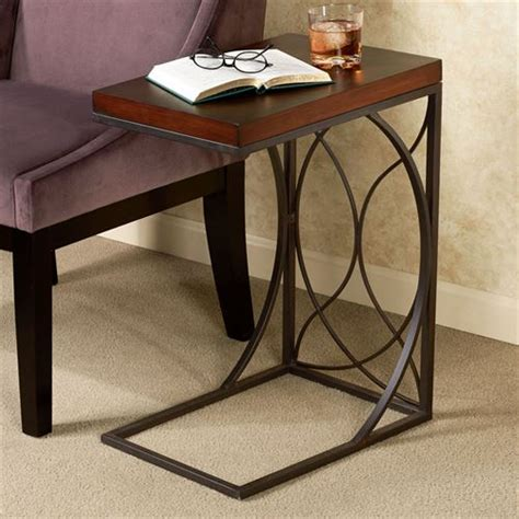 c shaped end table miley c shaped side table