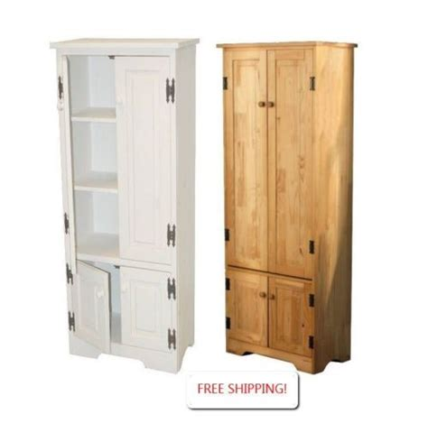 extra storage cabinet for kitchen cabinet storage pantry extra tall white or pine