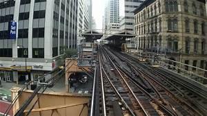 Train à L Arrivée : chicago l train pink line ride on the loop youtube ~ Medecine-chirurgie-esthetiques.com Avis de Voitures