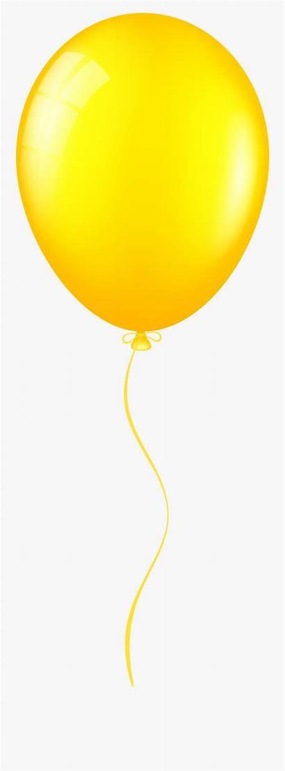 Balloon Clip Yellow Clipart Transparent Clipartkey Pngitem