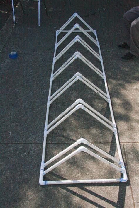 standing bike rack pvc bike stand