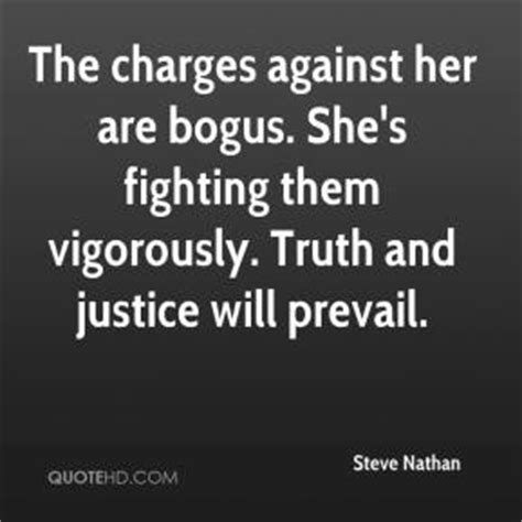 Truth And Justice Prevail Quotes