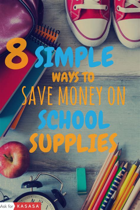 8 Simple Ways To Save Money On School Supplies  Kasasa Blog