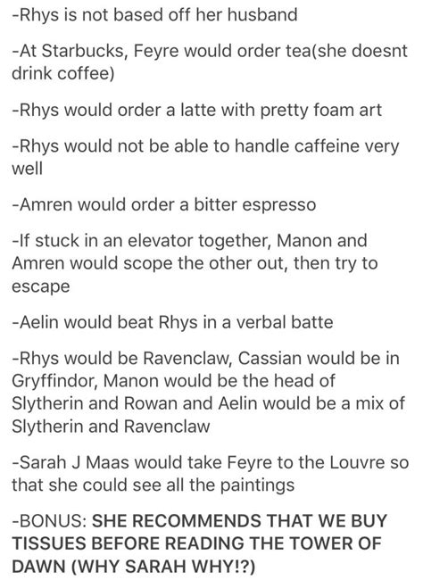 Pin on ACOTAR (and ToG crossovers)