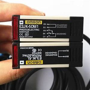 NIB OMRON Photoelectric Switch      E3S-AD12