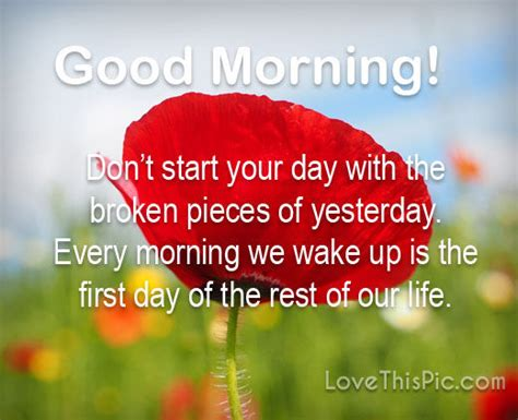 dont start  day good morning poem pictures
