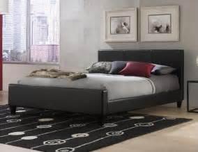 Black King Size Platform Bed
