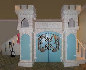Princess Playhouse Castle Bed