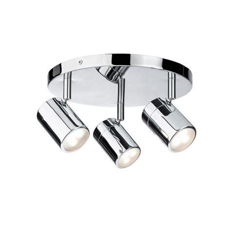 spot ip44 salle de bain plafonnier salle de bain paulmann lyra ip44 3x3 5w 230v gu10 chrome
