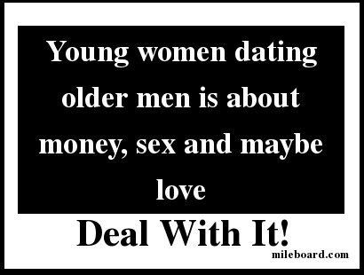 Dating a older man with money