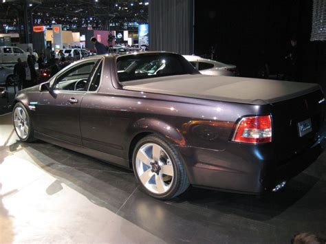Pontiac Pushes Forward With G8 'ute Despite Tough Times