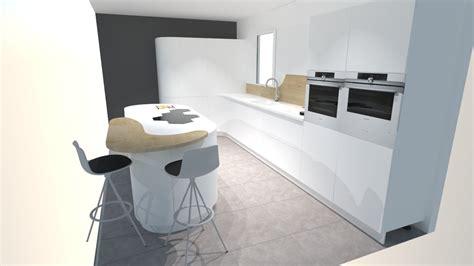 cuisine en l moderne meuble de cuisine moderne cuisine blanche cuisine