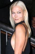 Karlie Kloss Arrves Tom Ford Fashion Show New York