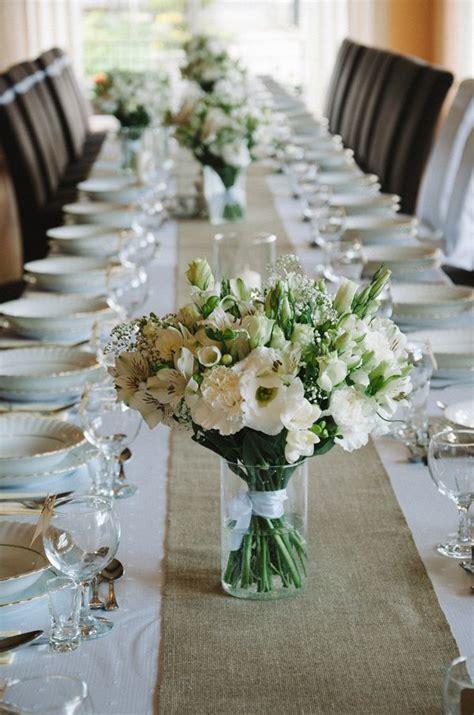dekoracje dekoracja na stole kwiaty wesele zdjecie