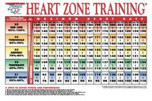 Heart Rate Zone Chart